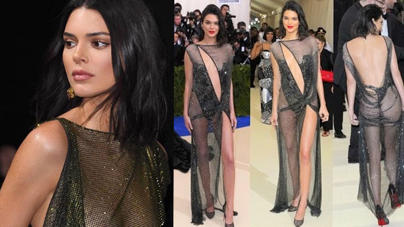 Kendall Jenner Looks sexy in this visible dress, watch video