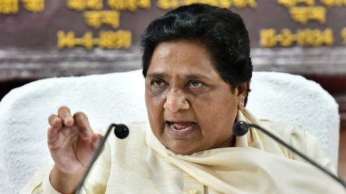 BSP Supremo Mayawati On Akash Vijayvargiya