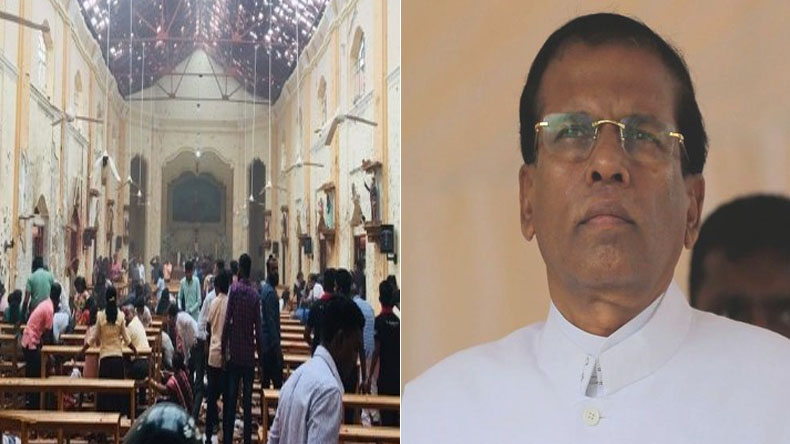 President Maithripala Sirisena to declare national emergency after bomb blast in Sri Lanka
