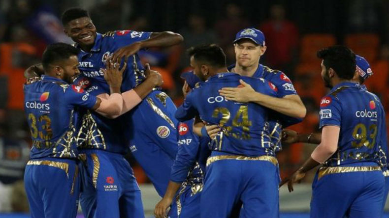 Mumbai Indians in IPL 2019 Final