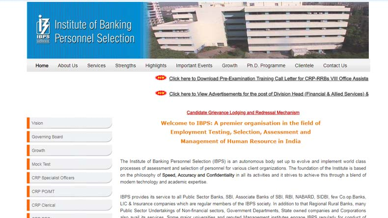IBPS RRB PO Scale 1 Admit Card 2019