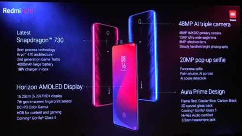 Xiaomi Redmi K20 K20 Pro launched In India