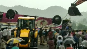 Gujarat Banaskantha Bus Accident