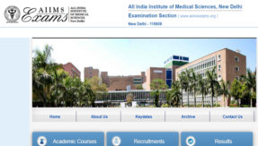 AIIMS BSc MSc Nursing Exam 2020 Dates