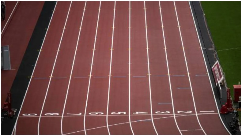 Track for Indian Olympians